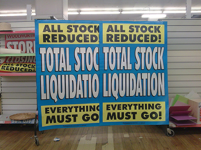 Stock Liquidation service from Totally Cleared